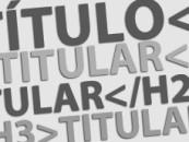 Optimización de títulos, texto e imágenes en páginas web.